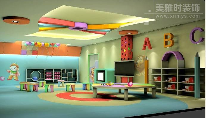 幼儿园装修设计中如何突出教学空间功能性?