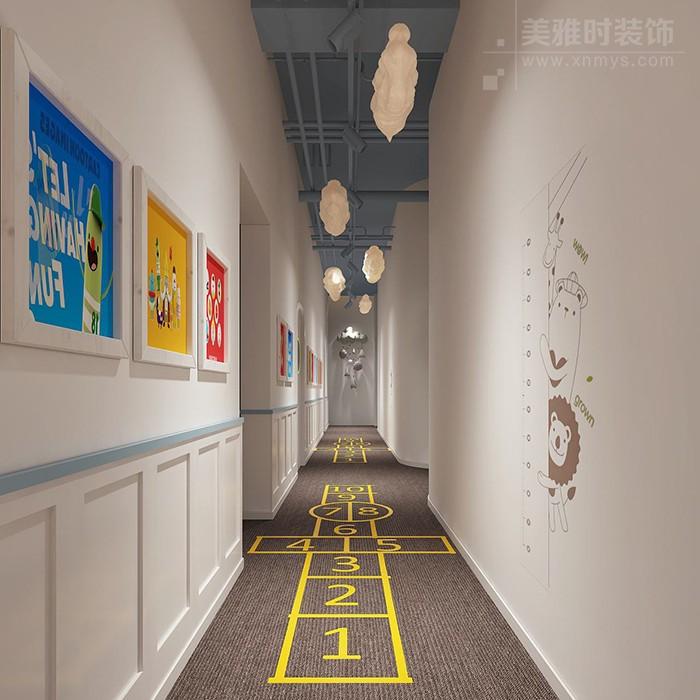 幼儿园通道空间巧妙设计