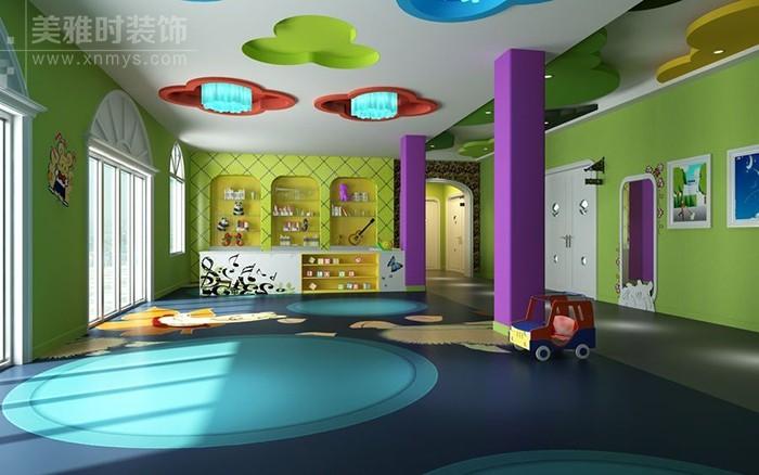 幼儿园装修设计、装修颜色搭配小学问