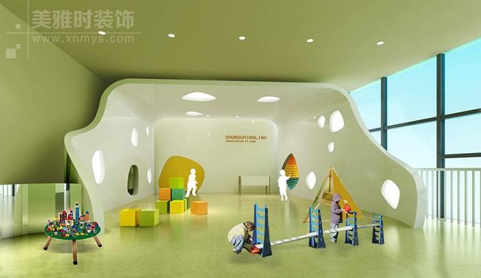 幼儿园装修设计不可缺少的三大活动区域