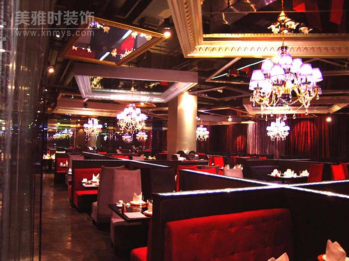 西餐厅装修风格