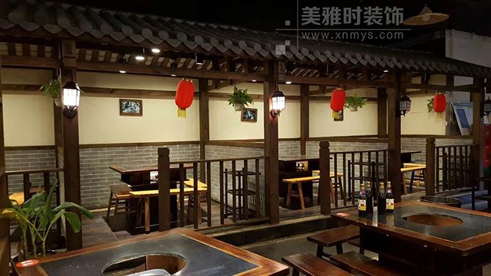 昆明火锅店装修设计方案