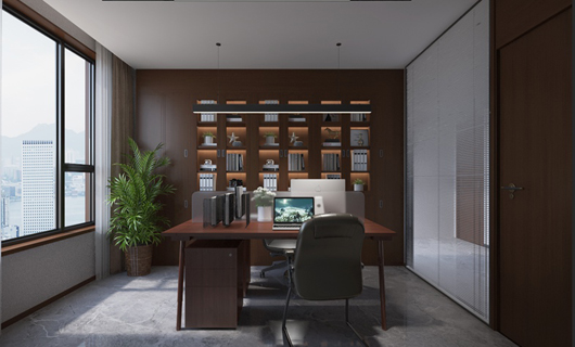 傲城大厦办公室装修案例