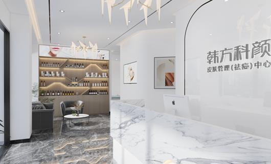 金江小区美容院装修案例